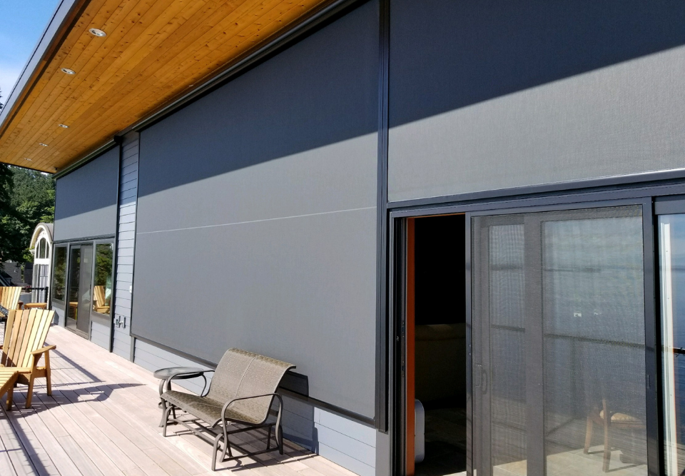 Outdoor Shades and Awnings Project Fresh Space Redesign