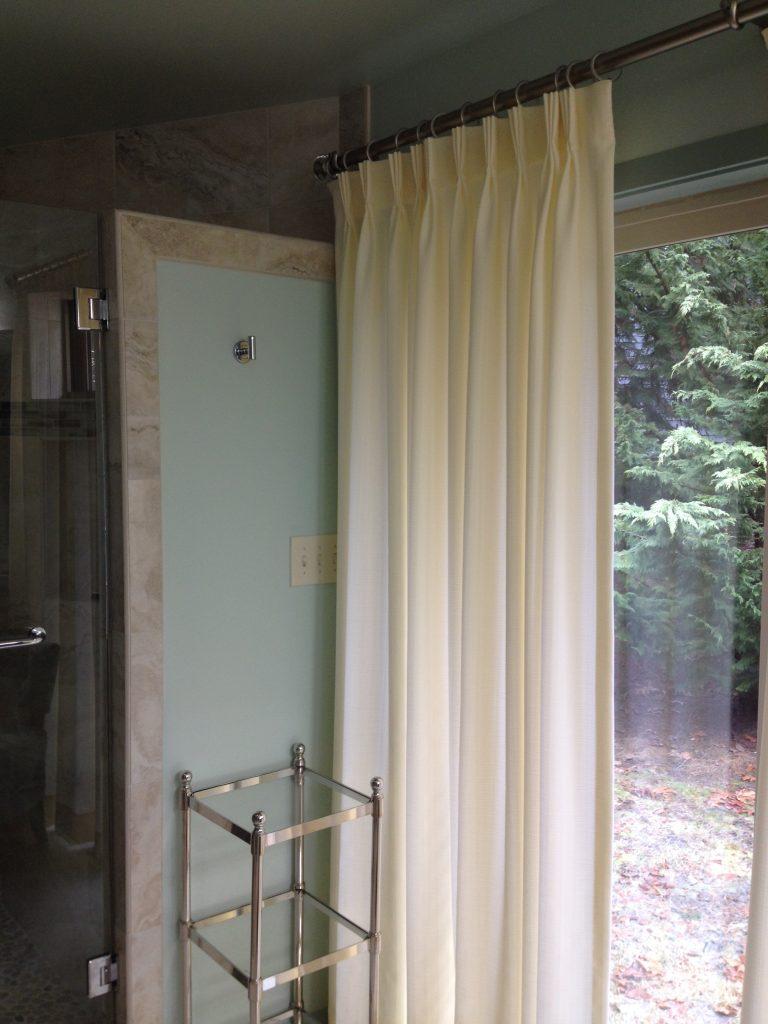 custom drapery patio door covering